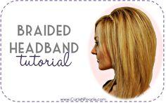 braided headband braid headband, hair tutorials, straight hair, long hairstyles, style hair, longer hair, braid hair, long curly hair, hair tips