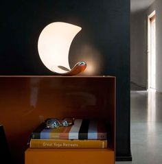 Curl Table Lamp by Sebastian Bergne for Luceplan Spa Photo