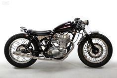 Custom Yamaha SR400 by Motor Rock