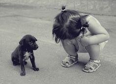 little girls, little ones, baby girls, baby dogs, puppi