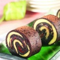BROWNIES KUKUS GULUNG http://www.sajiansedap.com/mobile/detail/11787/brownies-kukus-gulung