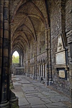 Holyrood Abbey, Scotland