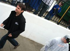 CAPTION THIS! photo of Jeff Gordon from Bristol Motor Speedway this past weekend! What is Jeff thinking? (Photo: Anne Ervin)