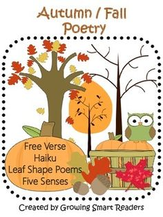 Autumn-Fall Poetry: Choral Reading and Writing
