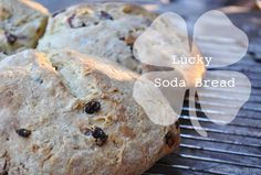 Lucky.sodabread irish soda, soda bread