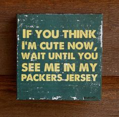 Vintage Green Bay Packers sports team art sports by bonnielecat, $29.00