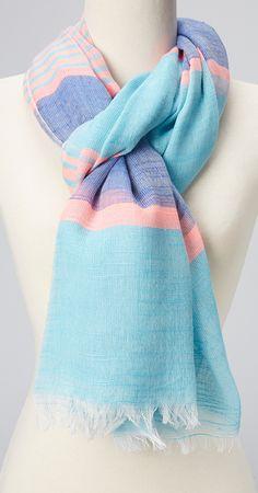 Beachy scarf