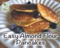 Super Easy Almond Flour Pancake Recipe Easy Almond Flour Pancakes