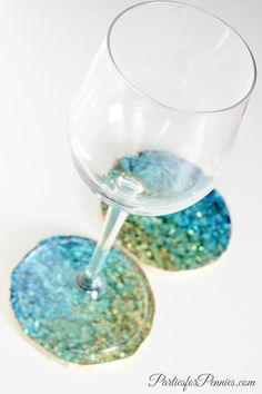 Kate Spade Inspired DIY Coasters by PartiesforPennies.com