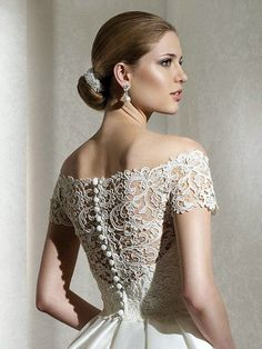 lace wedding dress  @Tommietra Walker