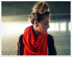Carrie Bradshaw Bun scarv