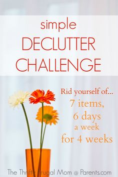 Declutter Challenge (Week 3)-- follow along as I purge my home of the excess and make money in the process!