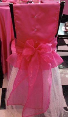 Ballerina Chiavari chair dressed up