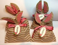 Bunny ear treat bags cased from Vicki