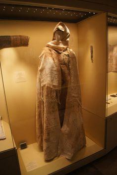 Hermitage.  Moshchevaya Balka.  hat, headscarf and half circle cloak.  North Caucasus. Adygo-Alanic culture. 8th-9th century.