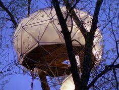 Geodesic Dome Tree House
