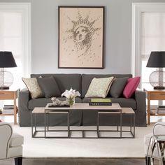 Living rooms on pinterest ethan allen vintage living for Ethan allen living room designs