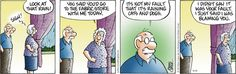 I wonder how many teachers feel the way Grandpa does in this Pickles comic strip?