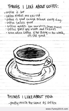 coffee....and you