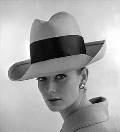 Rimmed hat with sash. Photo by John French.