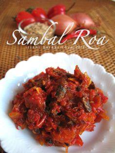 Sambal Roa (Indonesian Food)