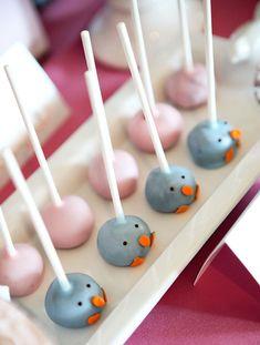 Baby Bird Cake Pops