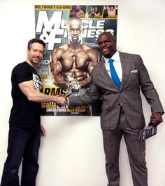 Look who stopped by the Muscle & Fitness offices! http://www.muscleandfitness.com/workouts/workout-tips/3-top-muscle-building-tips-terry-crews