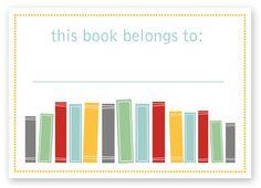 this book belongs to