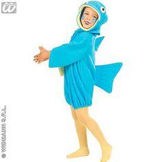 Disfraz de Pez Azul #infantil #disfraces #carnaval