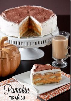 Mini Pumpkin Tiramisu | My Baking Addiction