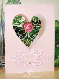 Memory_Box_La_Rue_Heart_Pink_Aperture_Valentine's_card_by_cre8nart