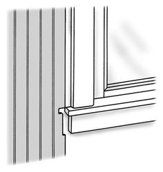 how to install beadboard around windows and outlets