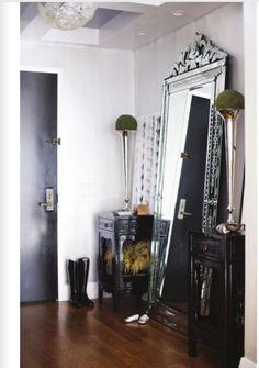 big mirror for entryway