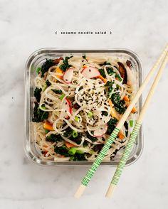 sesame noodle salad vegan