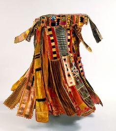 Egungun masker's garment, the Yoruba peoples, 1930-1960. Indianapolis Museum of Art.