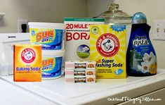 Make A Year's Worth of Laundry Soap for $30.00!