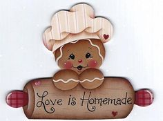 homemad gingerbread, craft, christmas clipart, gingerbread cuti, gingers, gingerbread paint, gingerbread man, pintura, countri