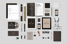 Realistic Stationery Mock-ups #design