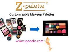 SpaDelic is now an authorized retailer for Z Palette Customized Makeup Palettes. Z Palette is the easiest way to organize your makeup for personal or professional use and is featured in the March issue of Allure magazine.   All orders over $150 that are placed by April 1st receive free Priority Mail Shipping!