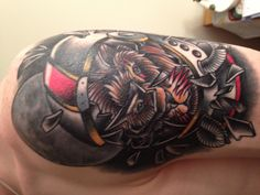 Brothers brave lion tattoo