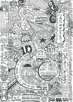 awesome looking one direction poster