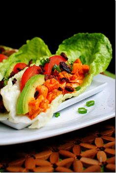 Low Carb Buffalo Chicken Wrap