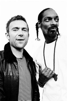 Damon Albarn and Snoop.  Such Gs.
