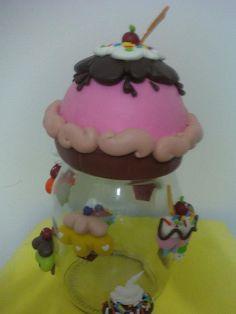 POTE CUP CAKE EM BISCUIT