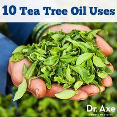 Tea tree oil has bee