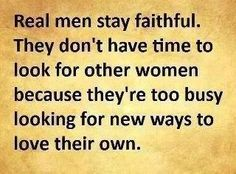 To lead your family men, be what you know you should be, faithful to your wife.   what men should know www.bfstoreonline.com