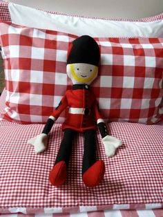 Love this felt toy soldier at The Little White Company Christmas 2012