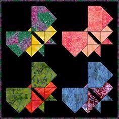 pieced butterfly quilt