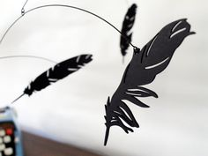 Falling Feather Mobile