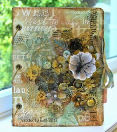 Kath's Blog......diary of the everyday life of a crafter: Inspired by Finnabair...